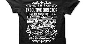 exec director t-shirt