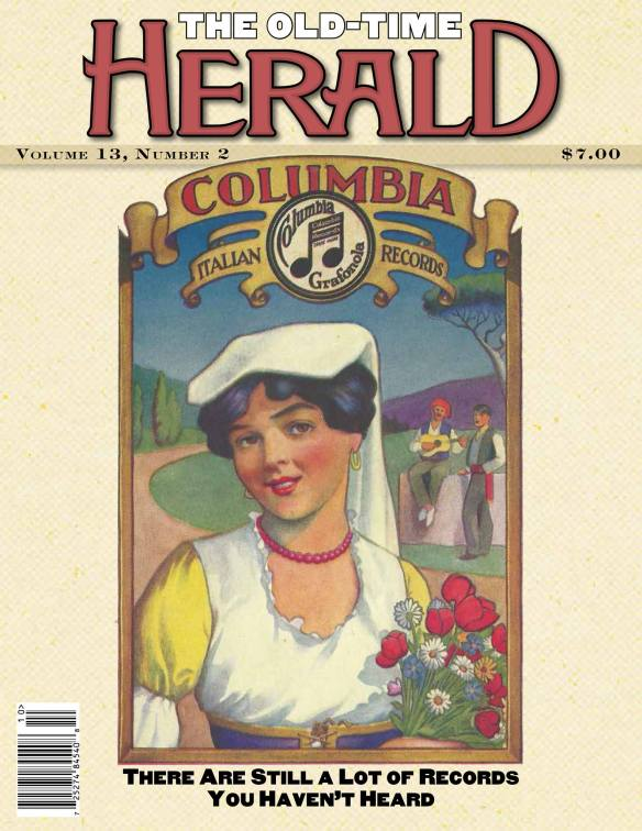 Old Time Herald Fall 2015 cover